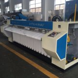 Maquinaria que plancha eléctrica del lavadero Ironer/de la máquina plana comercial de la prensa