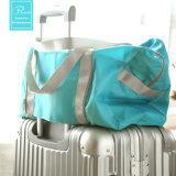 男女兼用の携帯用折るショッピング・バッグ旅行袋