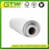 Бумага с покрытием 45 GSM Термосублимационная печать большого формата бумаги в размер рулона