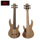 Prix bon marché solide Ash Body Electric Bass Ukulele modèle Bu-02t