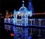Draht-Vielzahl des Fabrik-Großhandelsumlauf-3 Seil-des Lichtes der Farben-100m 110V LED für Weihnachtsbaum/Hochzeits-/Partei-Dekoration
