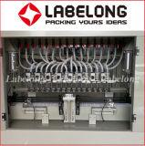 Máquina de etiquetado líquida de la máquina de rellenar del llenador corrosivo linear automático