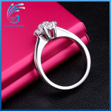 Alta qualidade muito bonita CZ anel de prata jóias para Dom