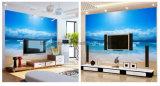 Resistência ambiental do risco da impressão feita sob encomenda nenhum papel de parede de cheiro da tela