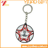 Douane in pvc Keychain /Keyring /Keyholder van Kerstmis van de Voorraad (yb-KH-451)