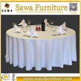 ホテルポリエステル結婚式のための白いテーブルクロス