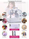 Produto de venda quente Overlock Portable Mini máquina de costura de uso doméstico portátil Fhsm-700