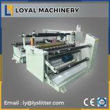 El arte de alta calidad de corte de rollo de papel de la máquina de rebobinar