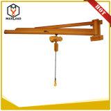 De gouden Kraan van de Kraanbalk van de Kwaliteit 3t 5t Zwenkende voor Verkoop