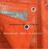 6ftx25FT couvercle orange de 8X8mesh bâche isotherme