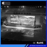 P2.6mm 이음새가 없는 접합 HD RGB LED 벽 전시