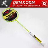 Articles de sport professionnel personnalisé de Badminton raquette en fibre de carbone