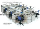 Начало изготовления столом офиса рабочих станций офисной мебели Foshan для штата