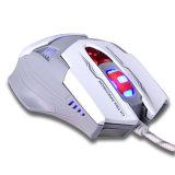 Mouse ergonomico ottico della lampadina collegato 7D