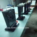 Banchi di mostra acrilici su ordinazione della serratura di portello