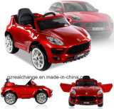 R/Cおよび手動機能(工場)の車を運転している子供のためのChridrenの電気おもちゃ