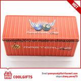 직사각형 주석 상자를 포장하는 음식 급료 과자 금속