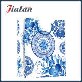 顧客用中国の花の様式によって印刷される買物をするギフトの紙袋