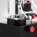 덤프 트레일러를 위한 두 배 임시 유압 펌프 12V 덤프 트레일러 -4 쿼트 금속 공기통