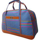Três cores mochila promocional de bolsas de Grande Capacidade Plaid Saco de viagem