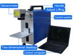 Pequenas 20W máquina de marcação a laser de fibra de Desktop para o Alumínio