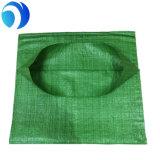 Saco tecido dos PP areia verde