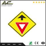 Aluminiumverkehrssicherheit-Fußgänger-Verkehrszeichen