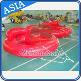 UFO pazzesco gonfiabile trainabile del gioco gonfiabile caldo dell'acqua, giocattoli divertenti dell'acqua per la persona 2