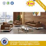 Un canapé-Définit l'Italie tissu jambes d'acier canapé meubles (HX-S341)