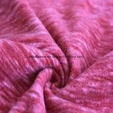 Panno morbido di effetto di stampa del catione micro, tessuto del rivestimento (winered)