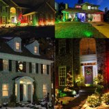 Controlável remoto Rg Laser de projecção jardim exterior Iluminação Decoração de Natal