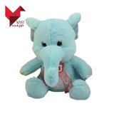 Luxuoso por atacado e brinquedos macios enchidos do elefante das orelhas grandes com fita