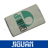 La fabbrica ha fornito il contrassegno tessuto ricamo su ordinazione di marchio