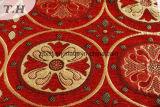 Tela del telar jacquar del Chenille de la flor para el sofá o la cortina