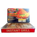 Gril remplaçable sans fumée de barbecue de gril instantané de charbon de bois d'Astar pour extérieur