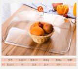 Couverture en plastique acrylique d'étalage de nourriture de gâteau de Retangular