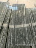 床タイルまたは舗装のためのNero磨かれた灰色のサンティアゴの花こう岩