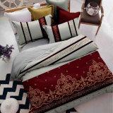 綿またはポリエステル実行中の研摩の印刷の寝具セット衰退しないため