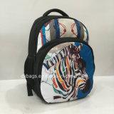 Мешки Backpack подростка Америка с картиной зебры