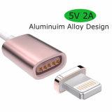 2017 câble de remplissage magnétique innovateur du câble de caractéristiques du produit USB de nouveaux produits 2 In1 pour l'iPhone et l'androïde