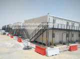 Casa prefabricada de dos pisos modificada para requisitos particulares incombustible certificada Ce