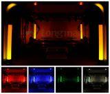 En el interior de 9X10W RGBW alimentado por batería discoteca LED DMX luces PAR