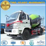 Foton 6 바퀴 시멘트 수송 트럭 3 M3 구체 믹서 트럭