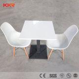 Feste Oberfläche kundenspezifische Kaffee-Tische, runde Speisetische