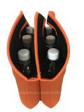 Neopreno ligero frasco puede aislado de la bolsa de refrigerador, pack de 6