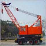 Constructeur mobile électrique de grue de pneu de Changhaï