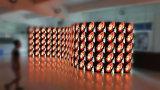 HD P3.9 indicador rental curvado interno & ao ar livre de P4.8 de diodo emissor de luz