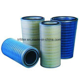 Cartouche 350*660mm de filtre à air de polyester de Donaldson