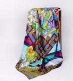 Europa-Form-großer quadratischer Silk Schal