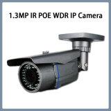 caméra de sécurité imperméable à l'eau de télévision en circuit fermé d'IP de remboursement in fine de 1.3MP CMOS WDR IR